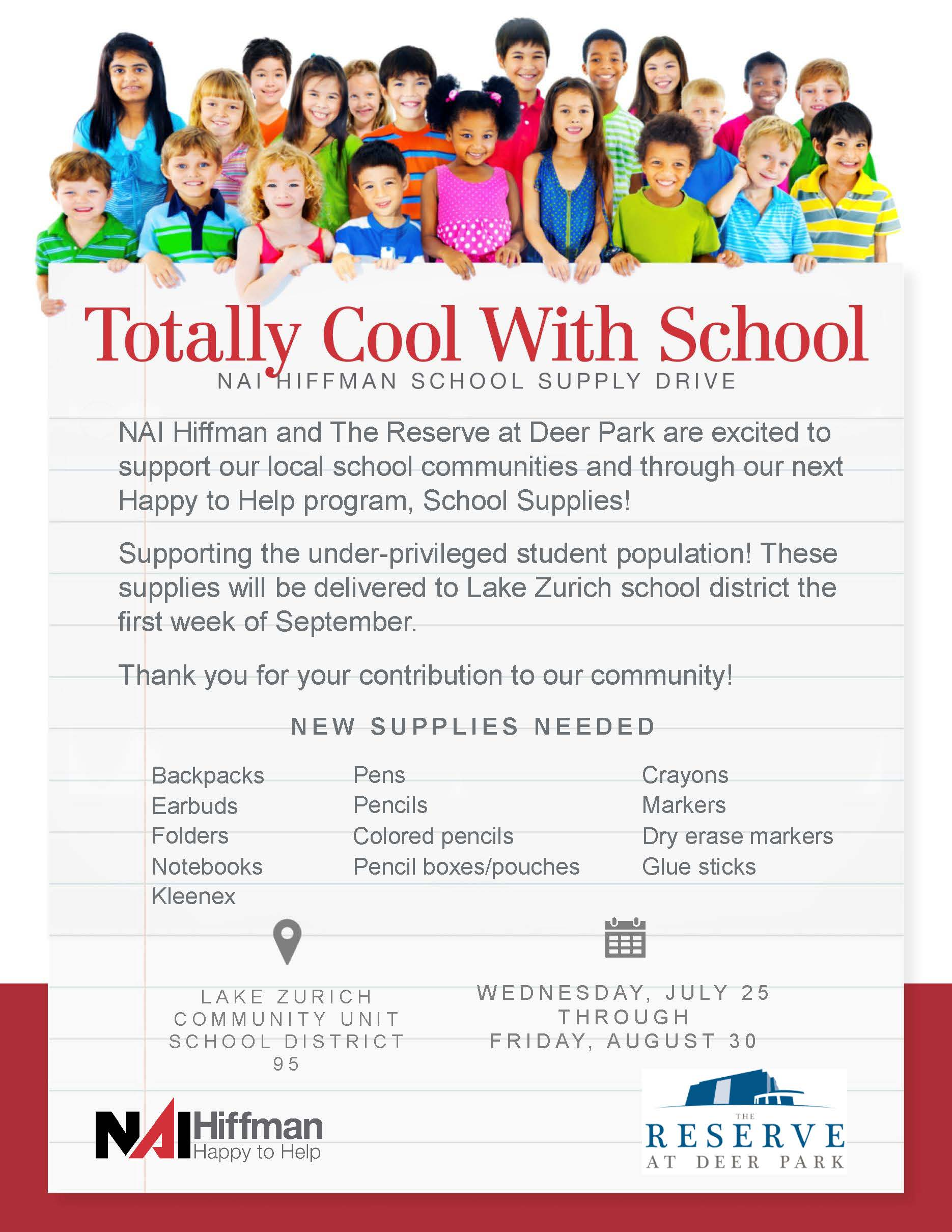 School Suppy Drive - The Reserve at Deer Park.jpg