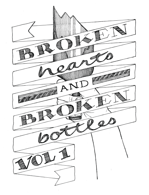 cover of  Paper and Ink  Literary Arts Zine, UK