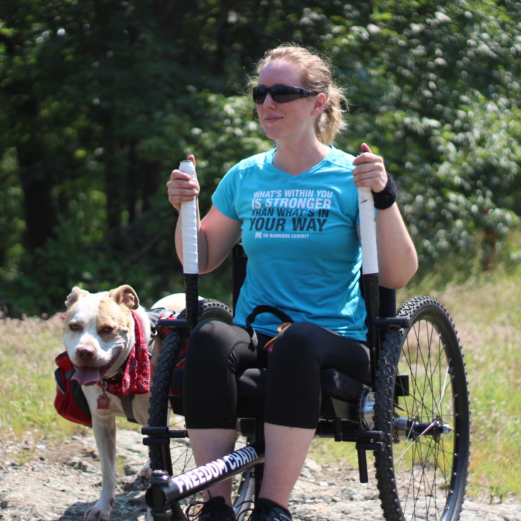 As my condition progressed, and I started using a wheelchair, I noticed a significant change in how my abilities were perceived. The reality is, I became MUCH more mobile and independent with my wheelchair than I was with any sort of walking aid.    - Nerissa    Read more about Nerissa