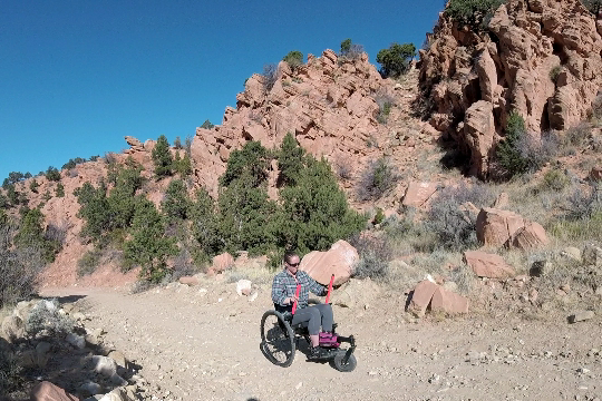 ATV trails are often multi-use, so they are wide and well packed.