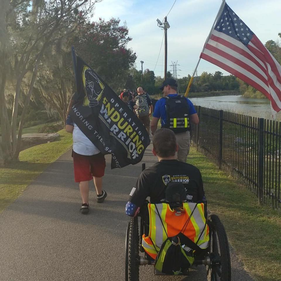 Tyler Rich - This weekend I completed the Capital Tour 2017 - Columbia, SC to benefit Operation Enduring Warrior. 20 miles in 9.5 hours. Couldn't have done it without the freedom chair! Next up is the Green Beret Chal.jpg