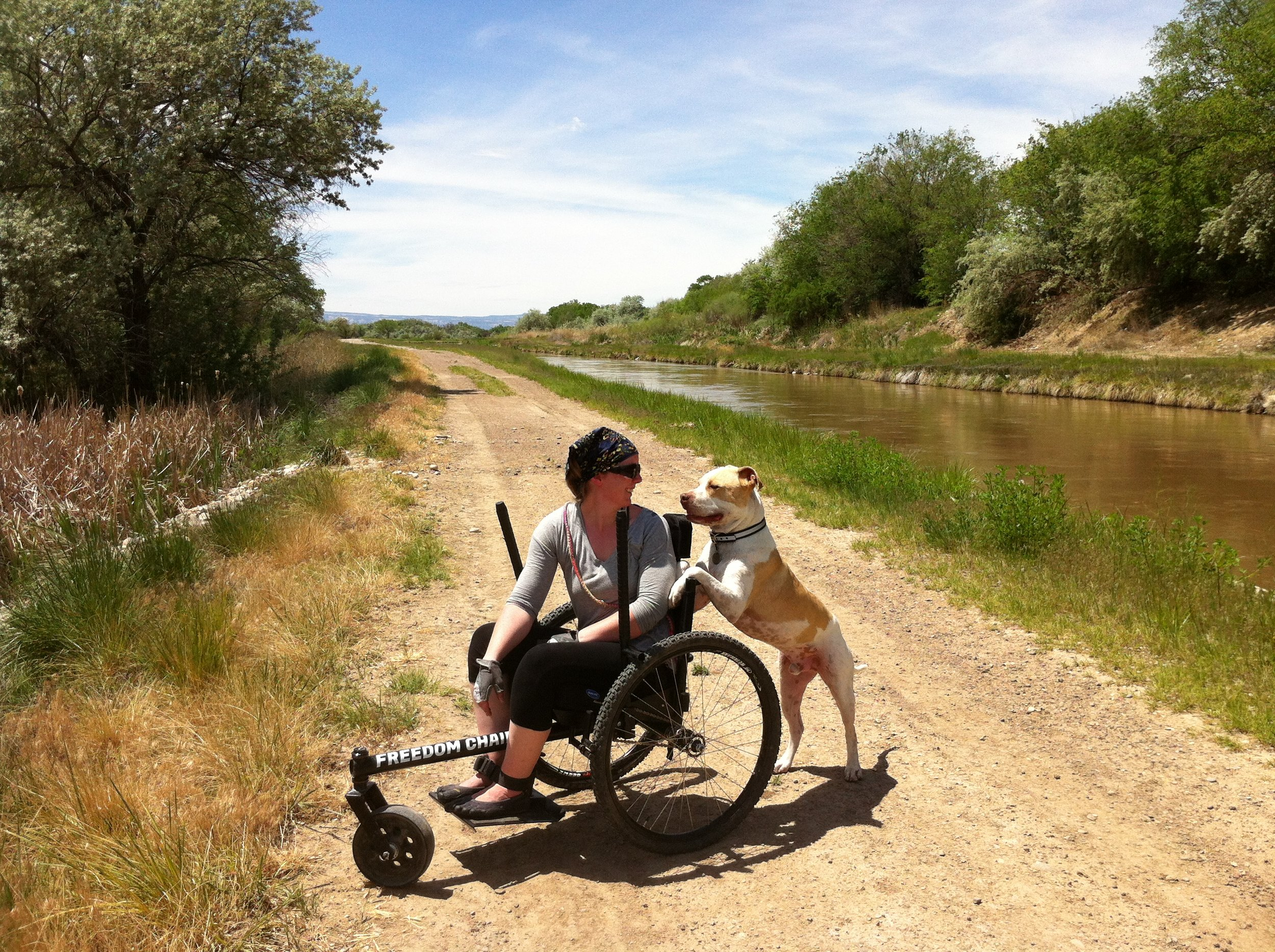 """""""I get a lot of fulfillment taking my dog out and seeing how happy he is to be able to run out in nature."""""""