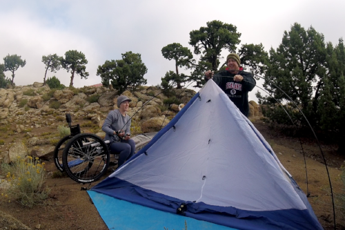Read more about wheelchair camping HERE!