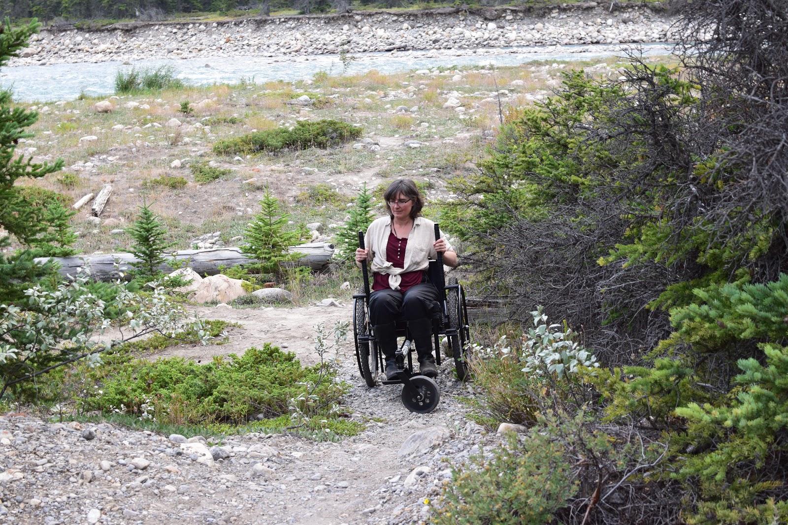 Snaring River in Jasper National Park
