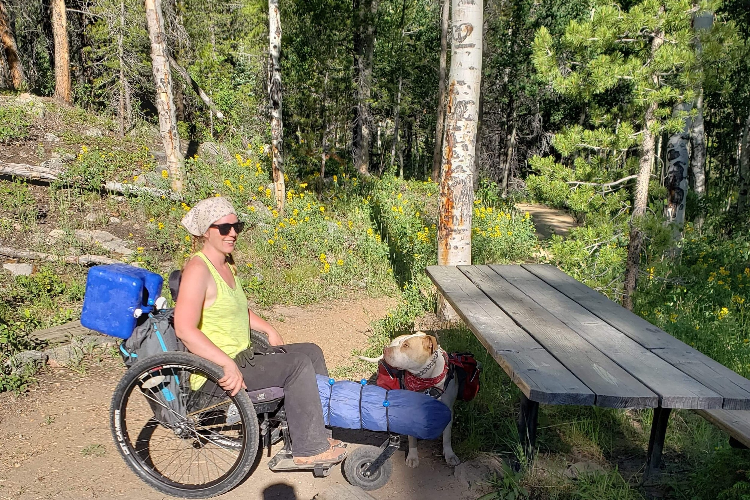 Nerissa stayed at the Sprague Lake Accessible Backcounty Campsite. Read more  HERE