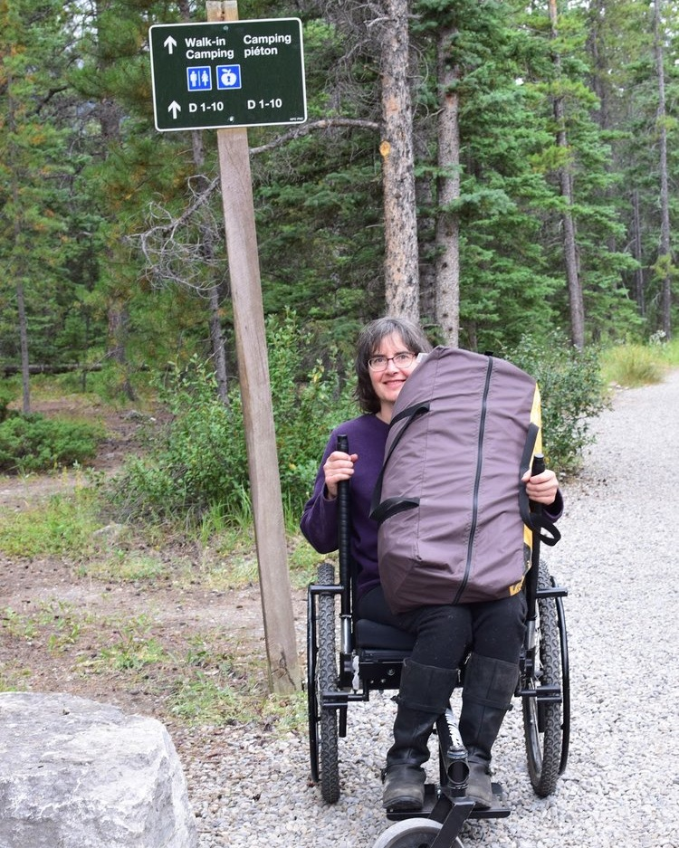 When I lost the use of my legs, I thought I had also lost the wilderness in my life. With a concentrated effort of creativity and flexibility, along with a good dose of humility, I found my way back into camping again.    —  Jenny