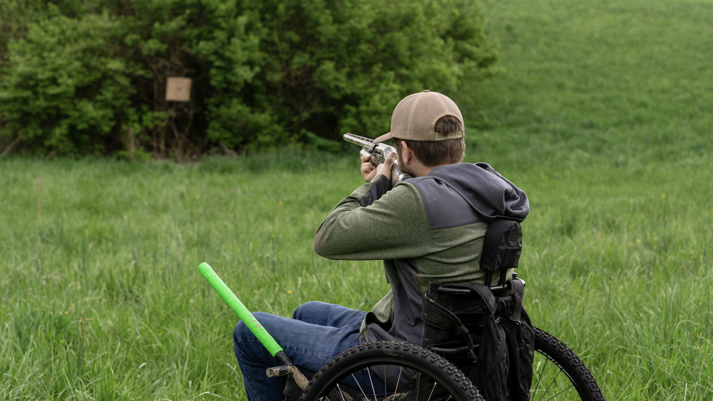Hunting in the GRIT Freedom Chair