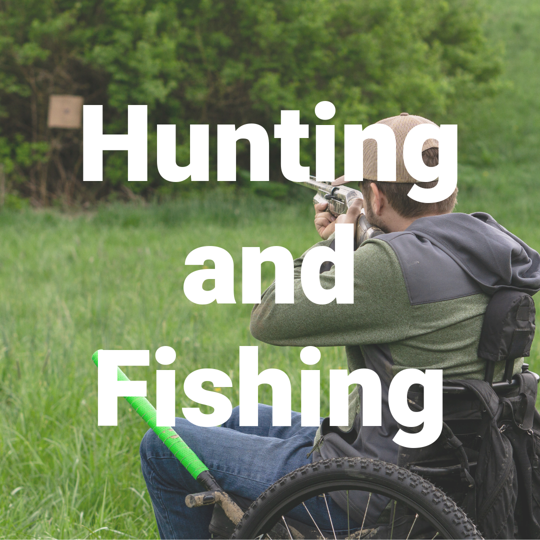 Off-road wheelchair- Hunting and Fishing