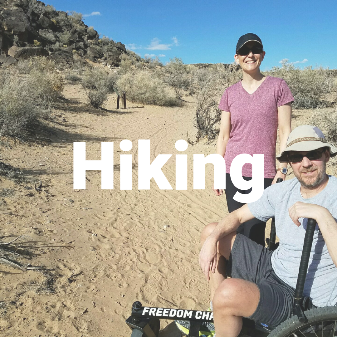 Off-road wheelchair- Hiking in the GRIT Freedom Chair