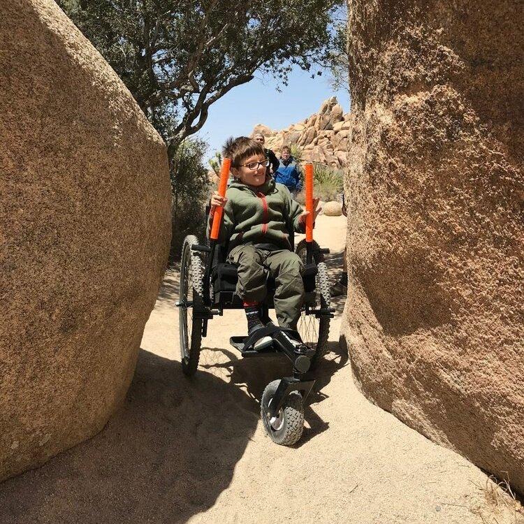 All-terrain wheelchair-Ollie