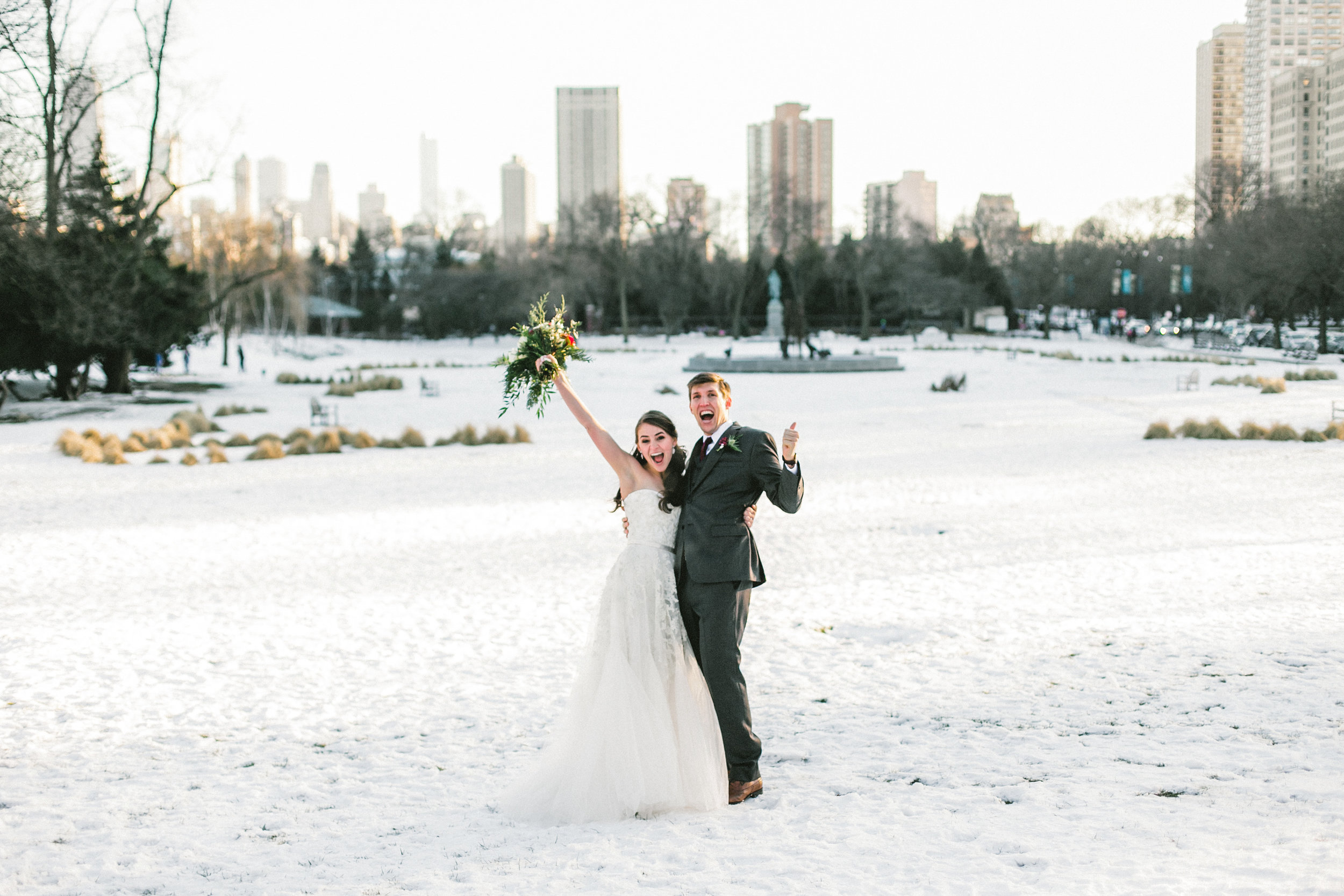 Winter Snowy Wedding
