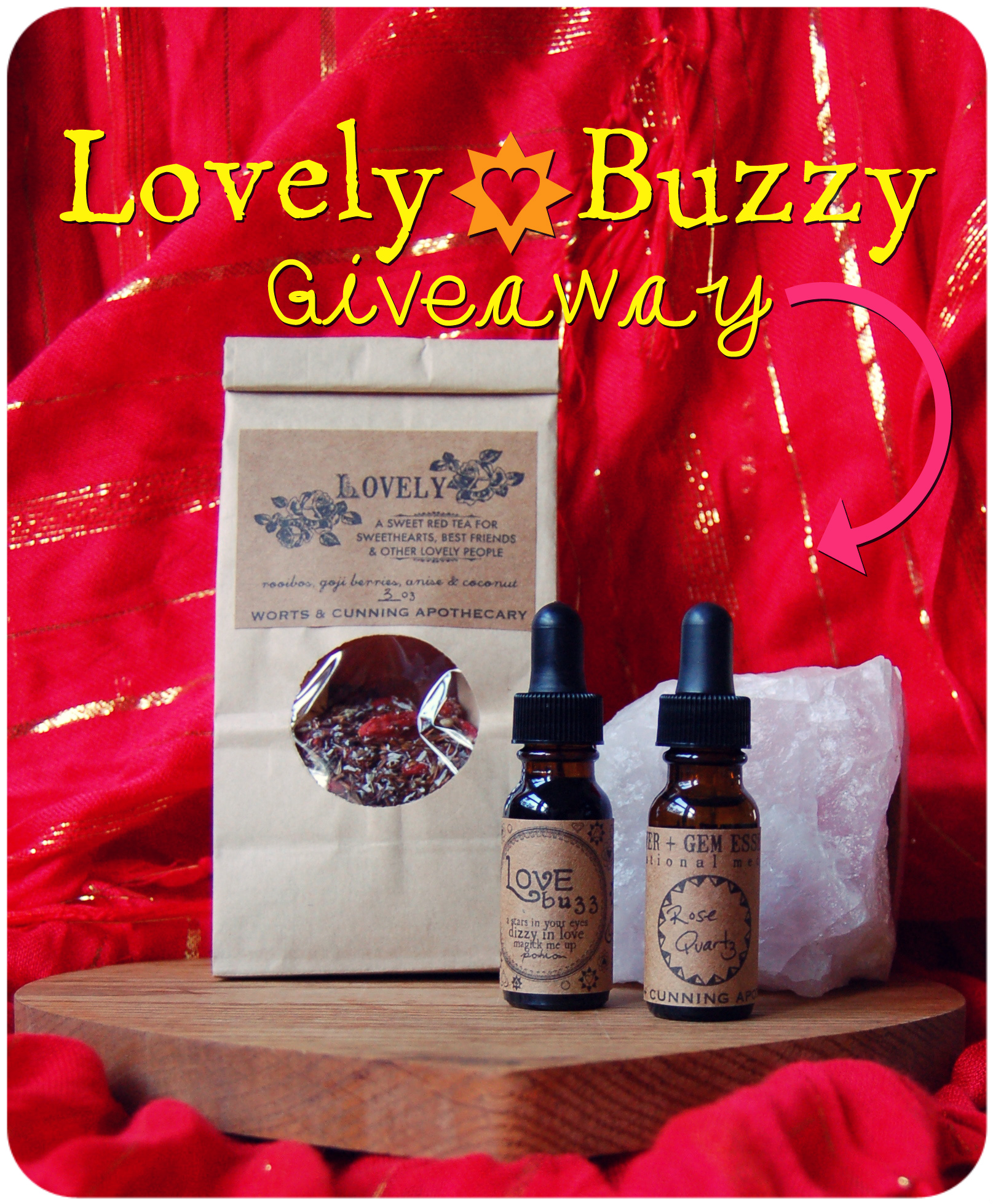 lovely buzzy giveaway