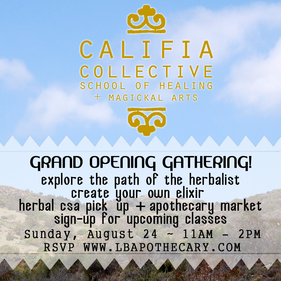 Grand Opening Califia Collective