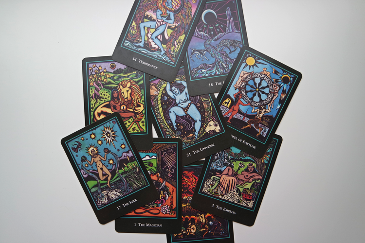 I'll cast your cards with the World Spirit Tarot...