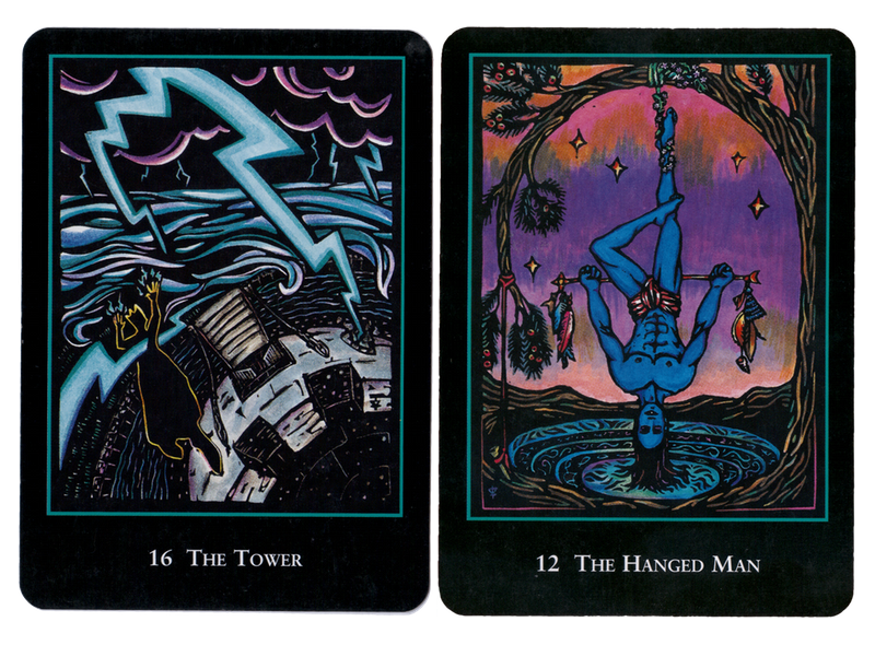 Cards from the   World Spirit Tarot