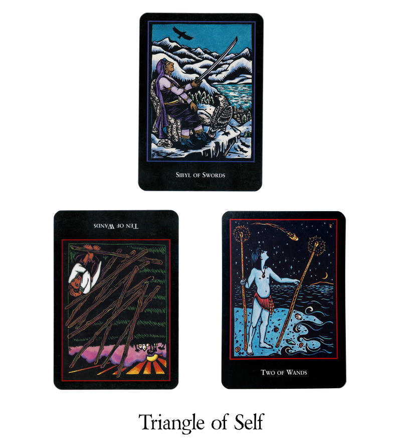 All cards shown in this post are from the   World Spirit Tarot  .