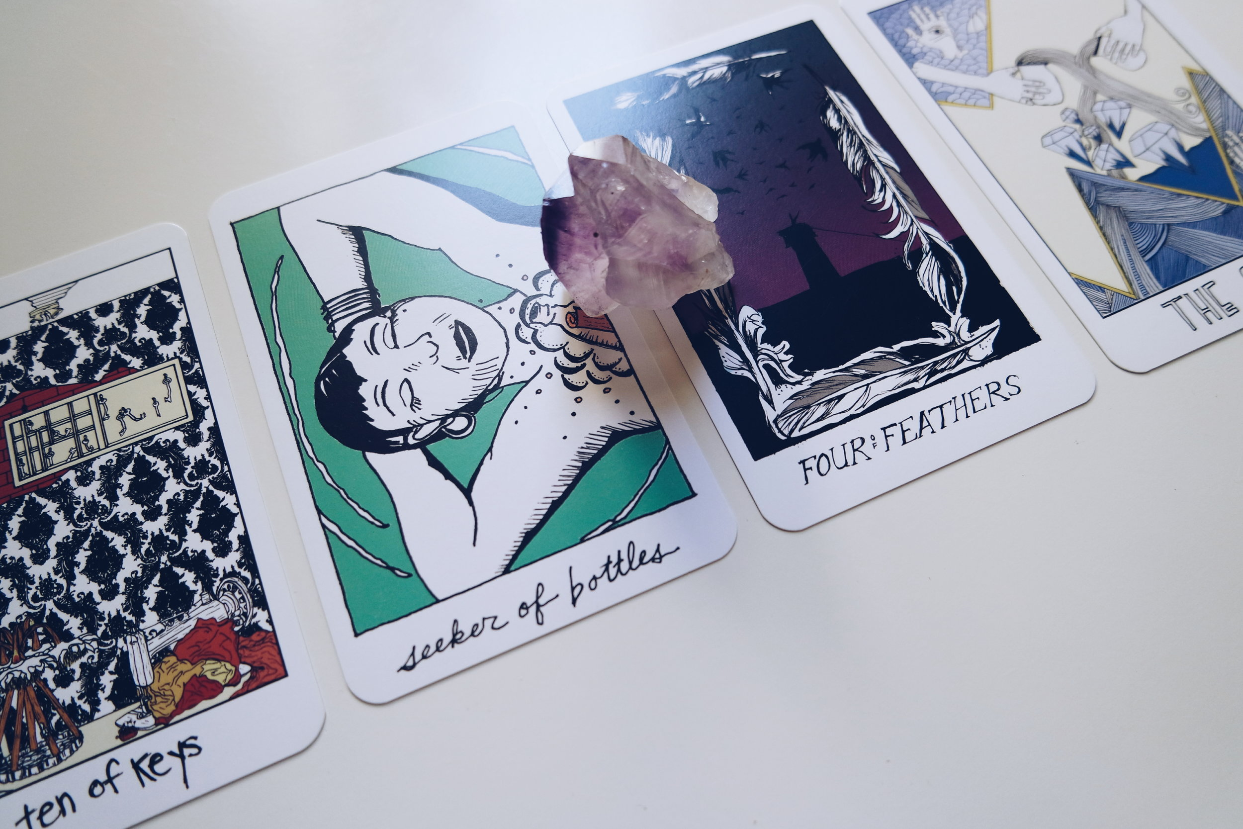 Collective Tarot + Amethyst