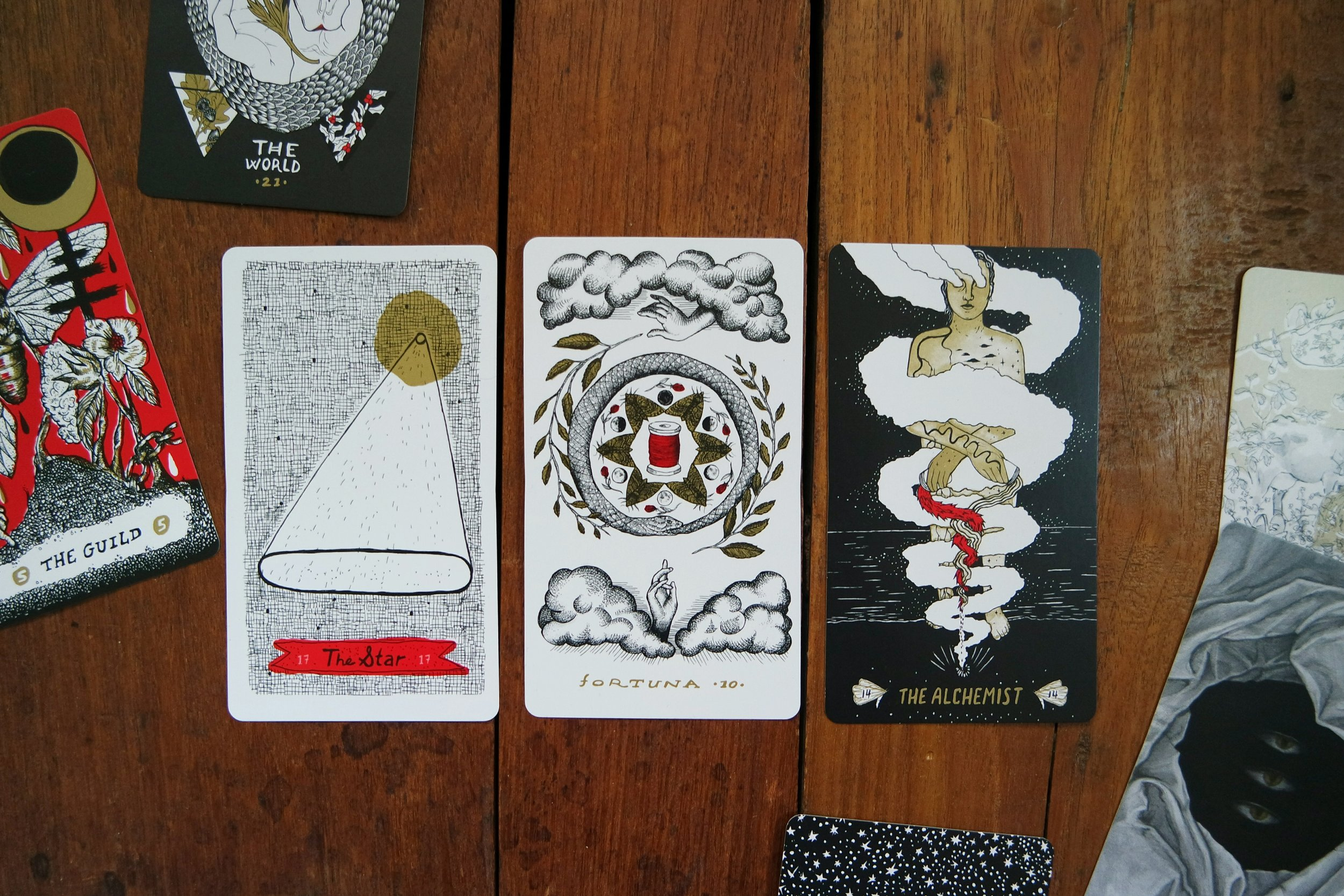 slow holler tarot