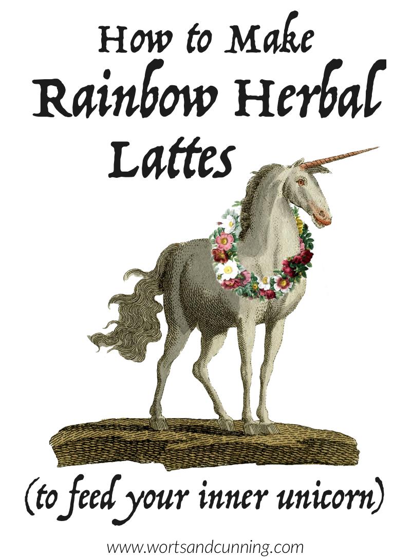 rainbow latte unicorn latte