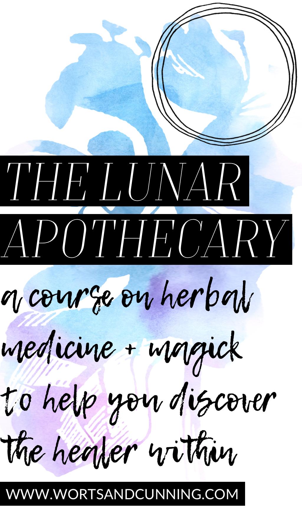 lunar apothecary moon magick school