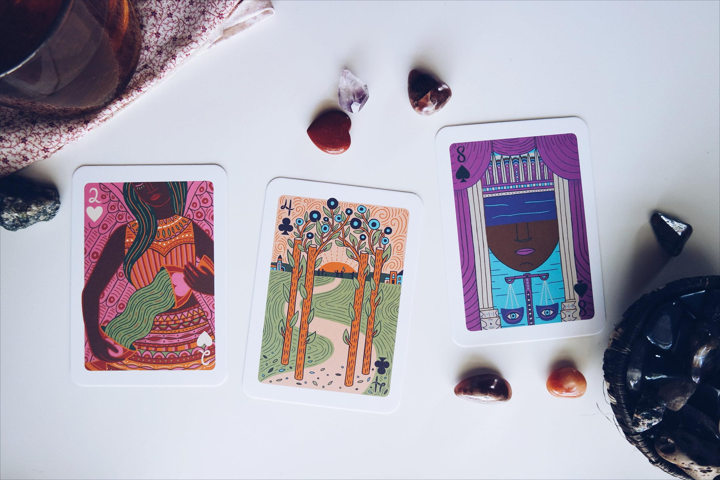 The Illuminated Tarot  by Caitlin Keegan