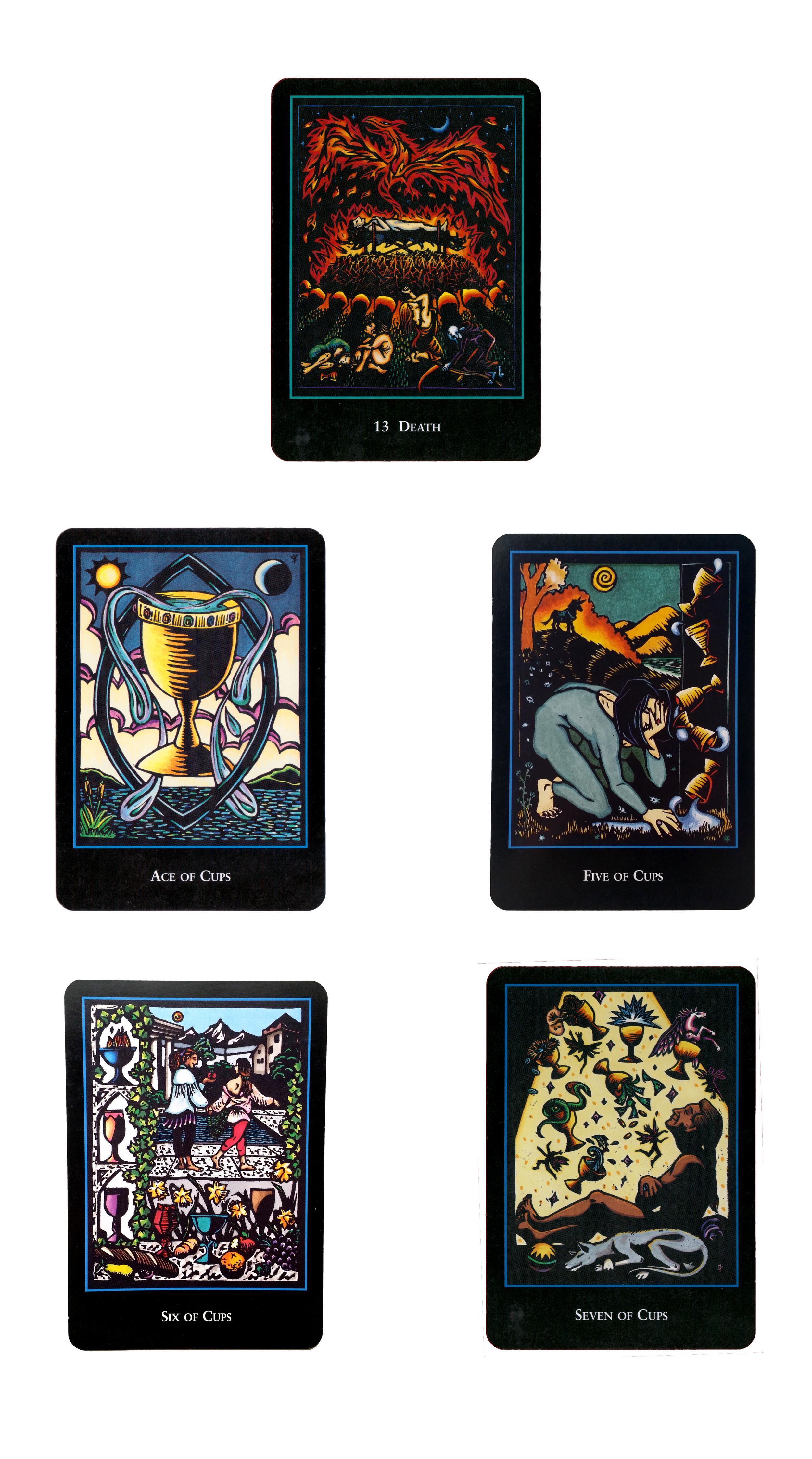 scorpio tarot cards astrological