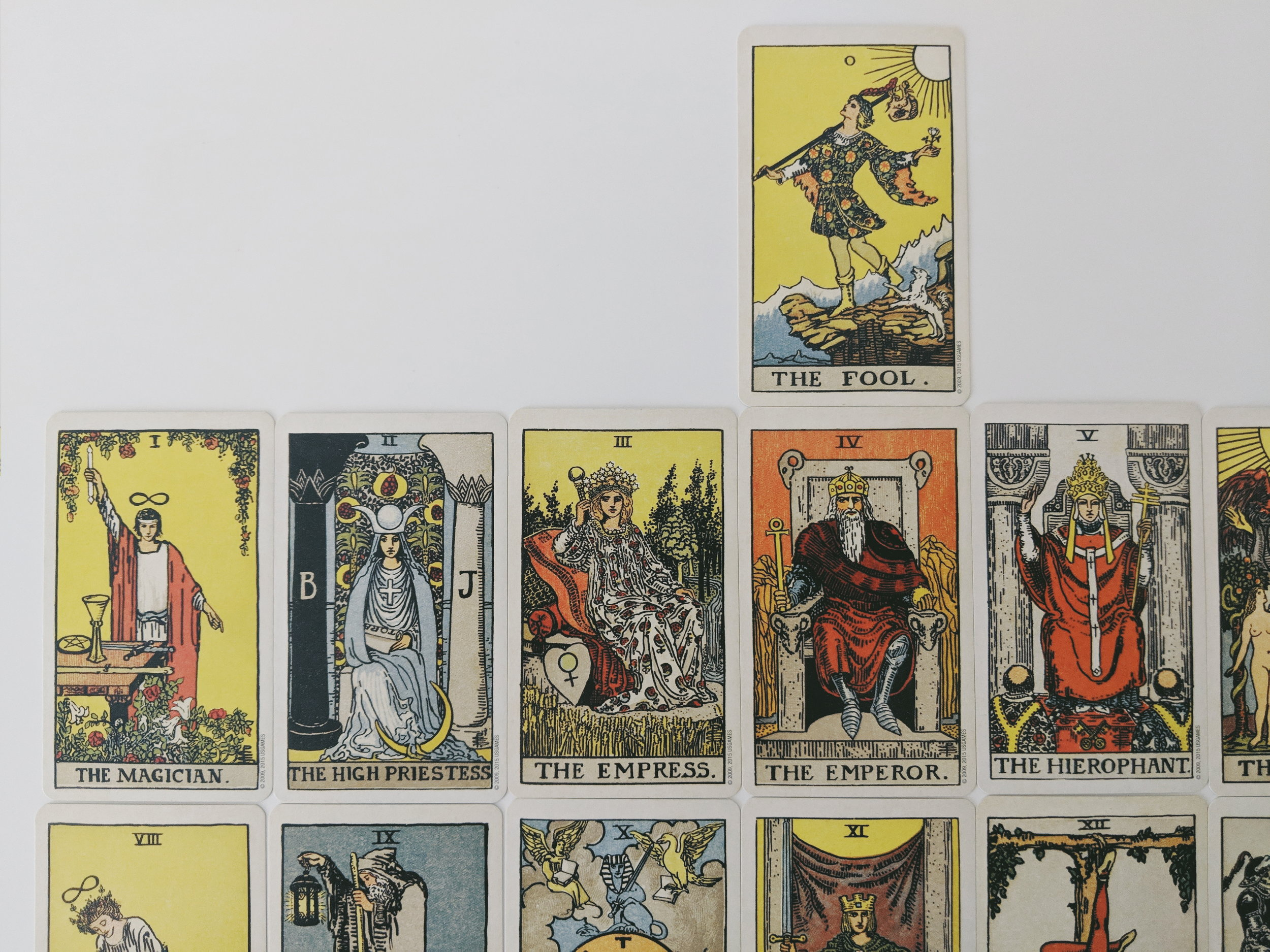 Smith Waite Centennial Edition Tarot