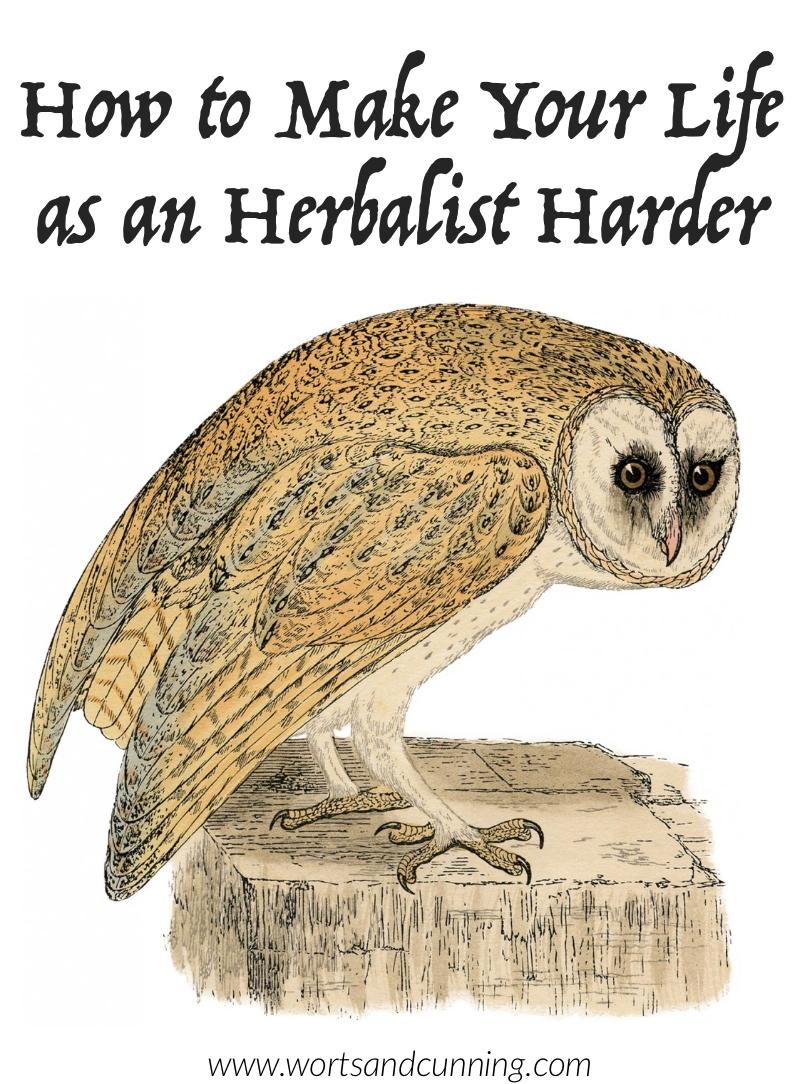 herbalism mistakes