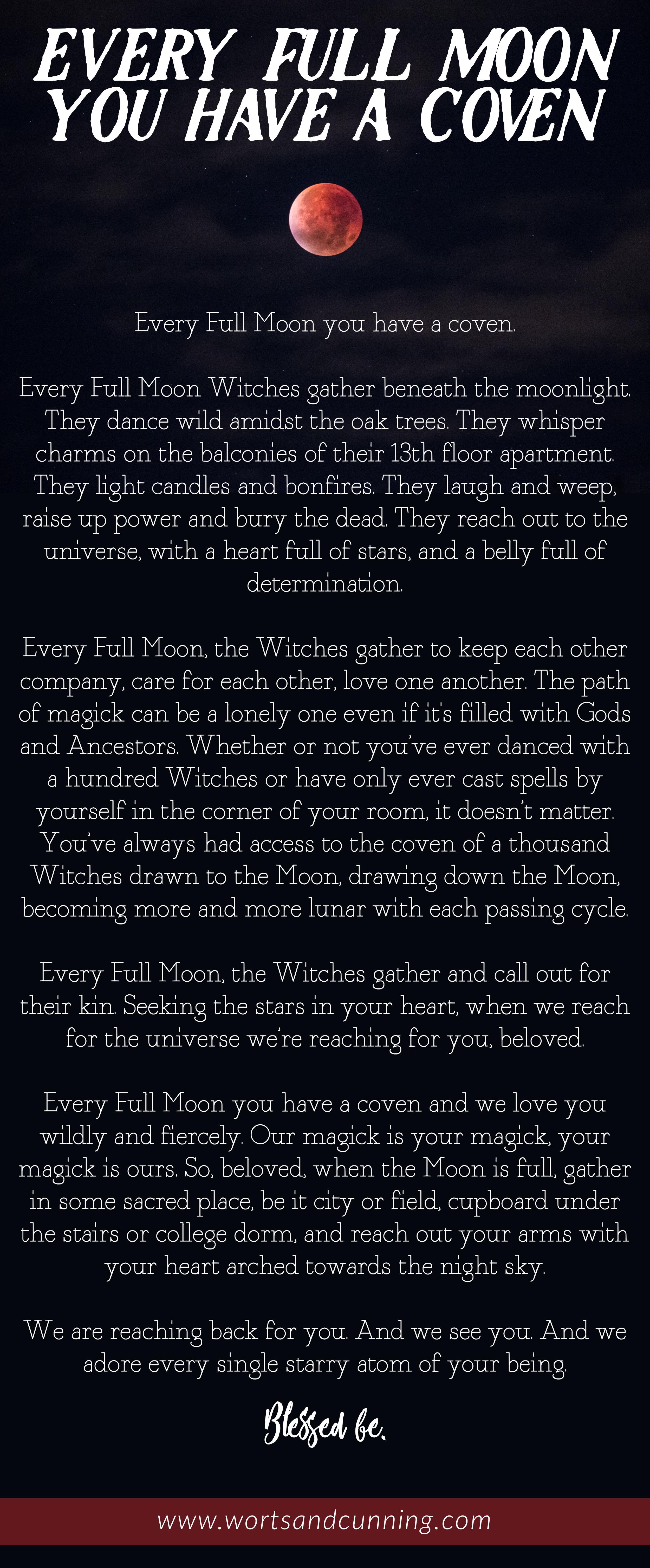 full moon coven