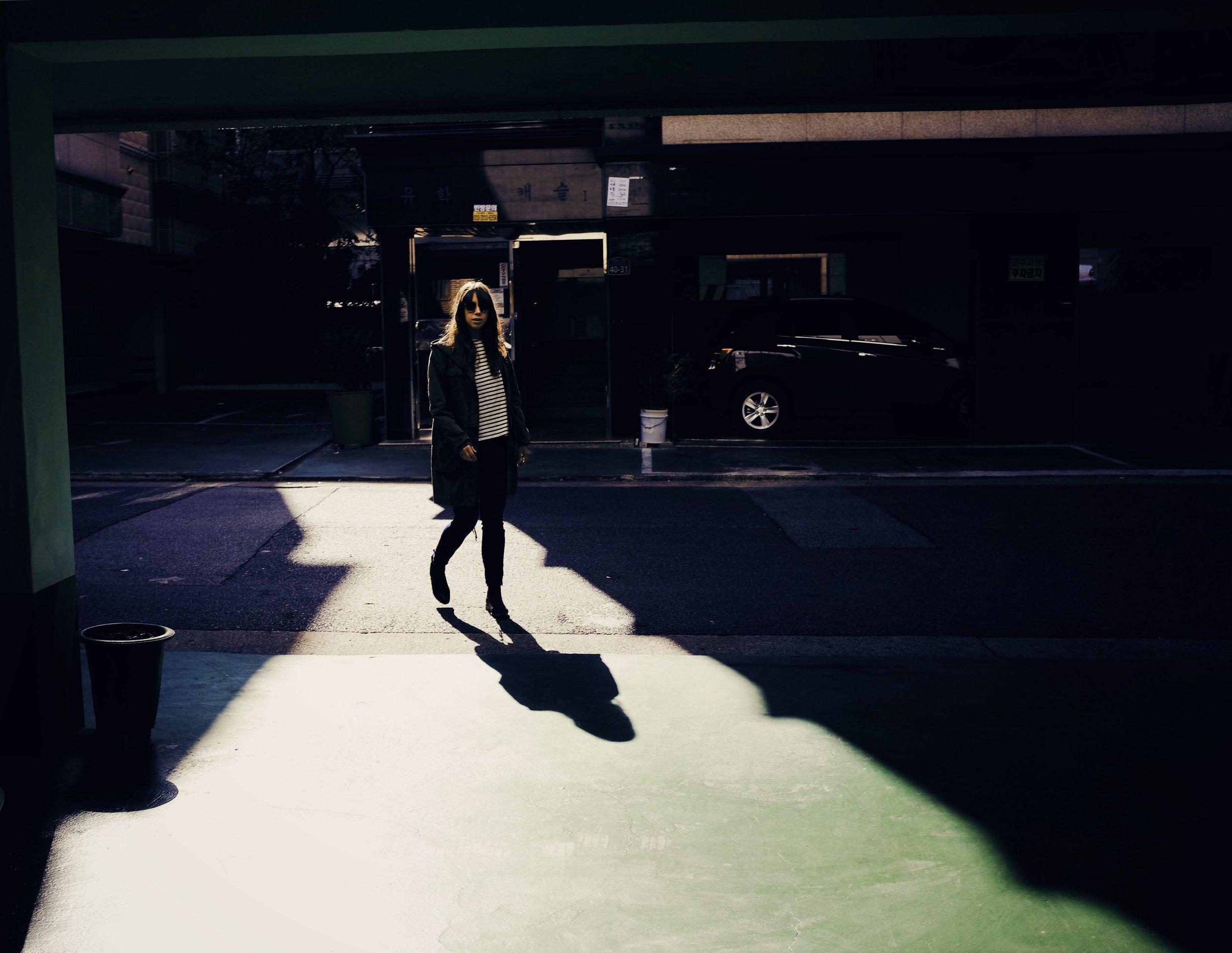 Parking shadows