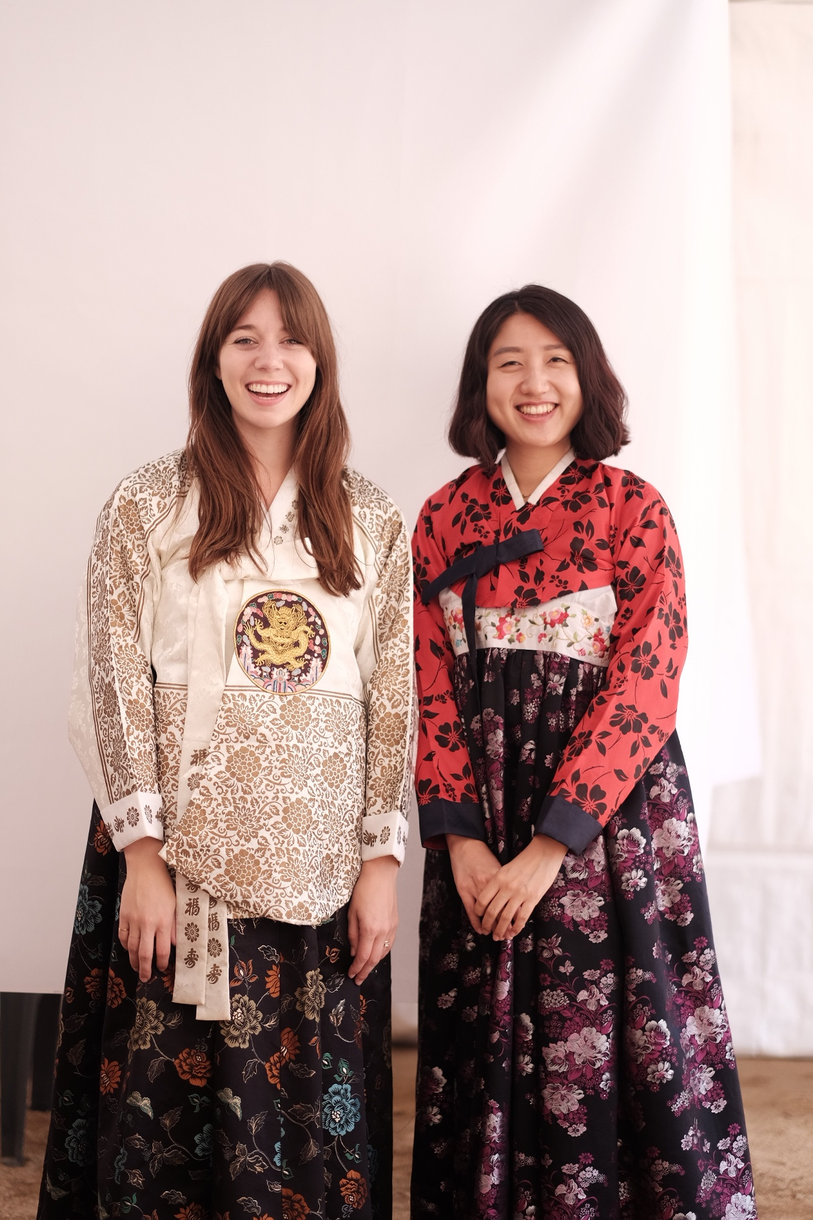 Hanboks that are not for tall people