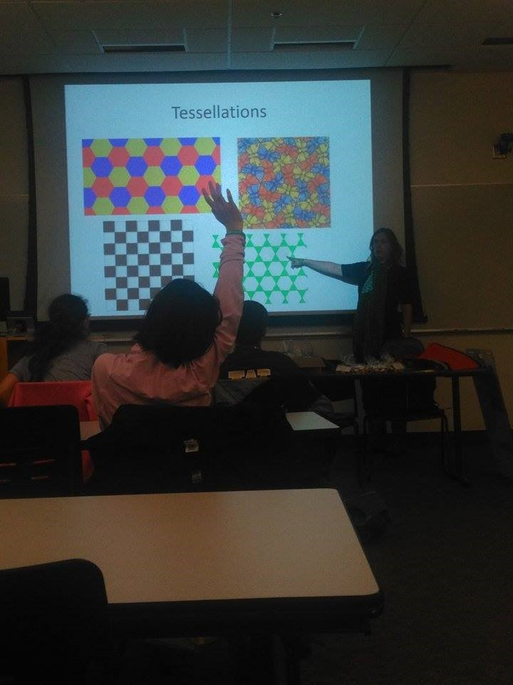 Dr. Jennifer McLoud-Mann teaching students