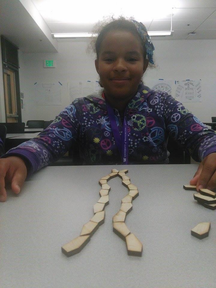 Student shares her design