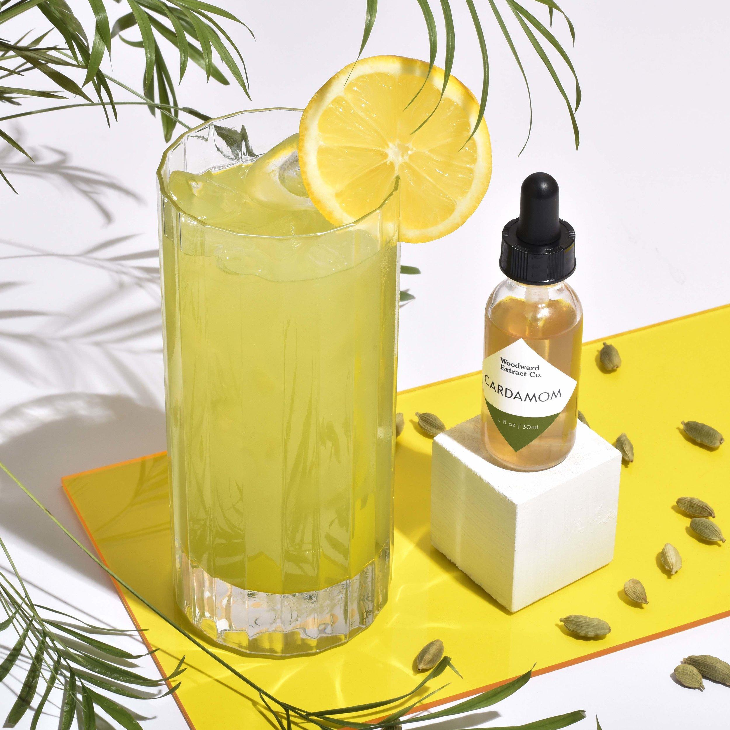 Cucumber Cardamom Lemonade