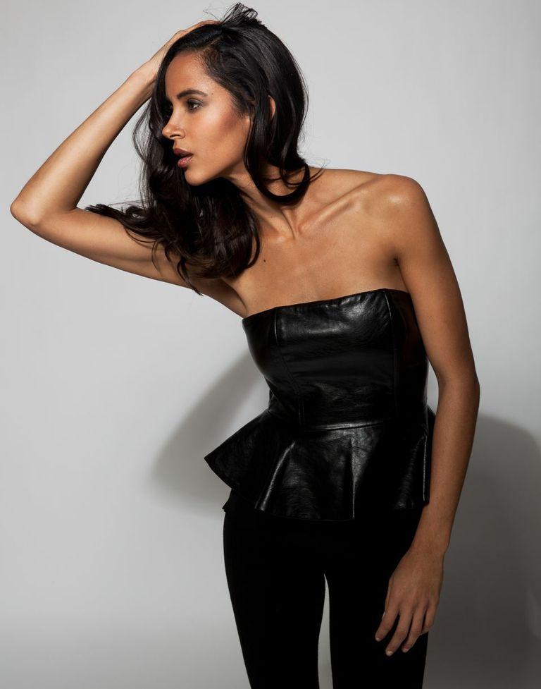 model ANGELA HIGHSMITH   photographer GRANT MILLS   styled by NIK