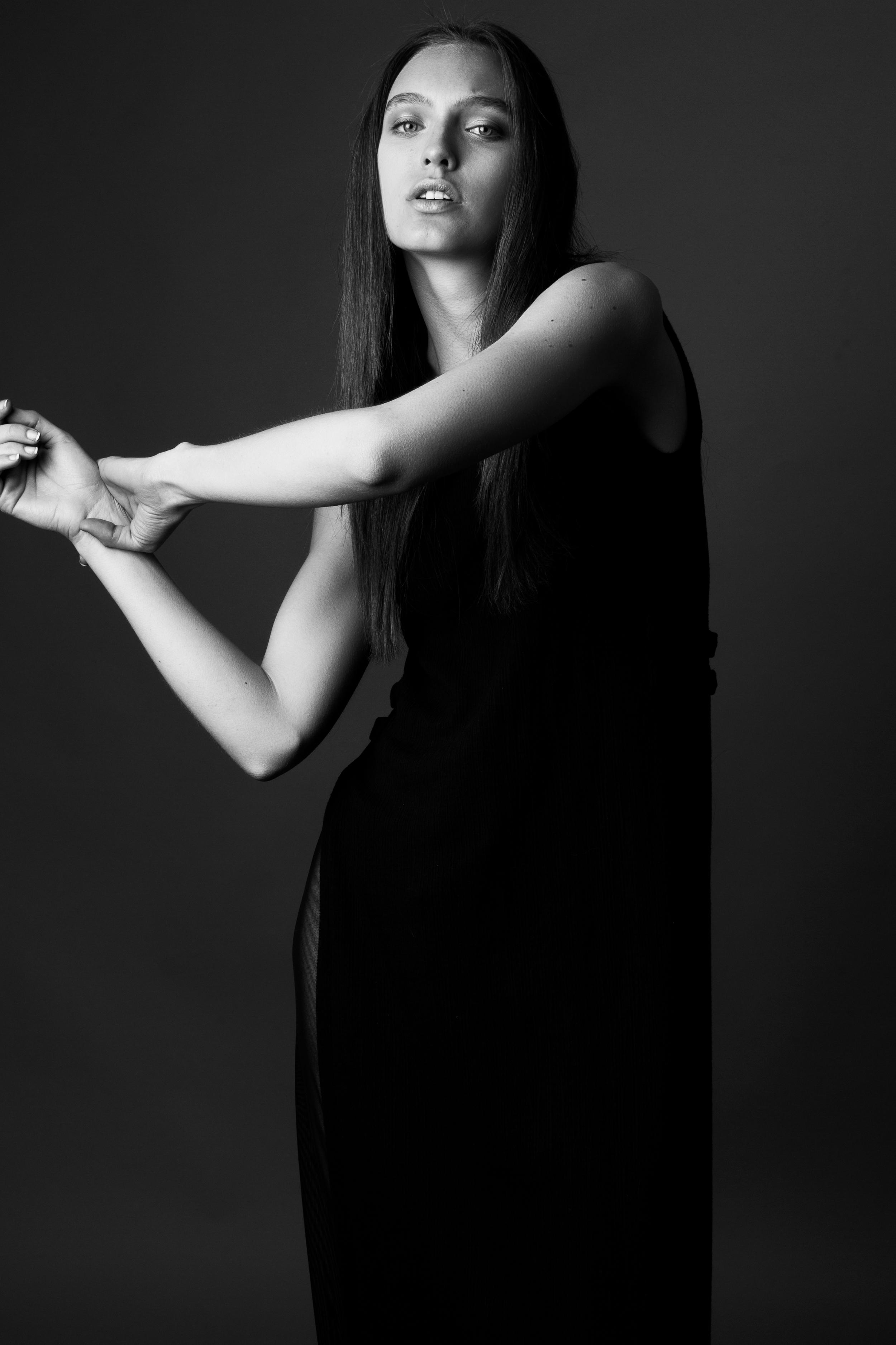 model CRYSTAL   photographer BONNIE NICHOALDS   featured designer  XJAFINE   styled by NIK