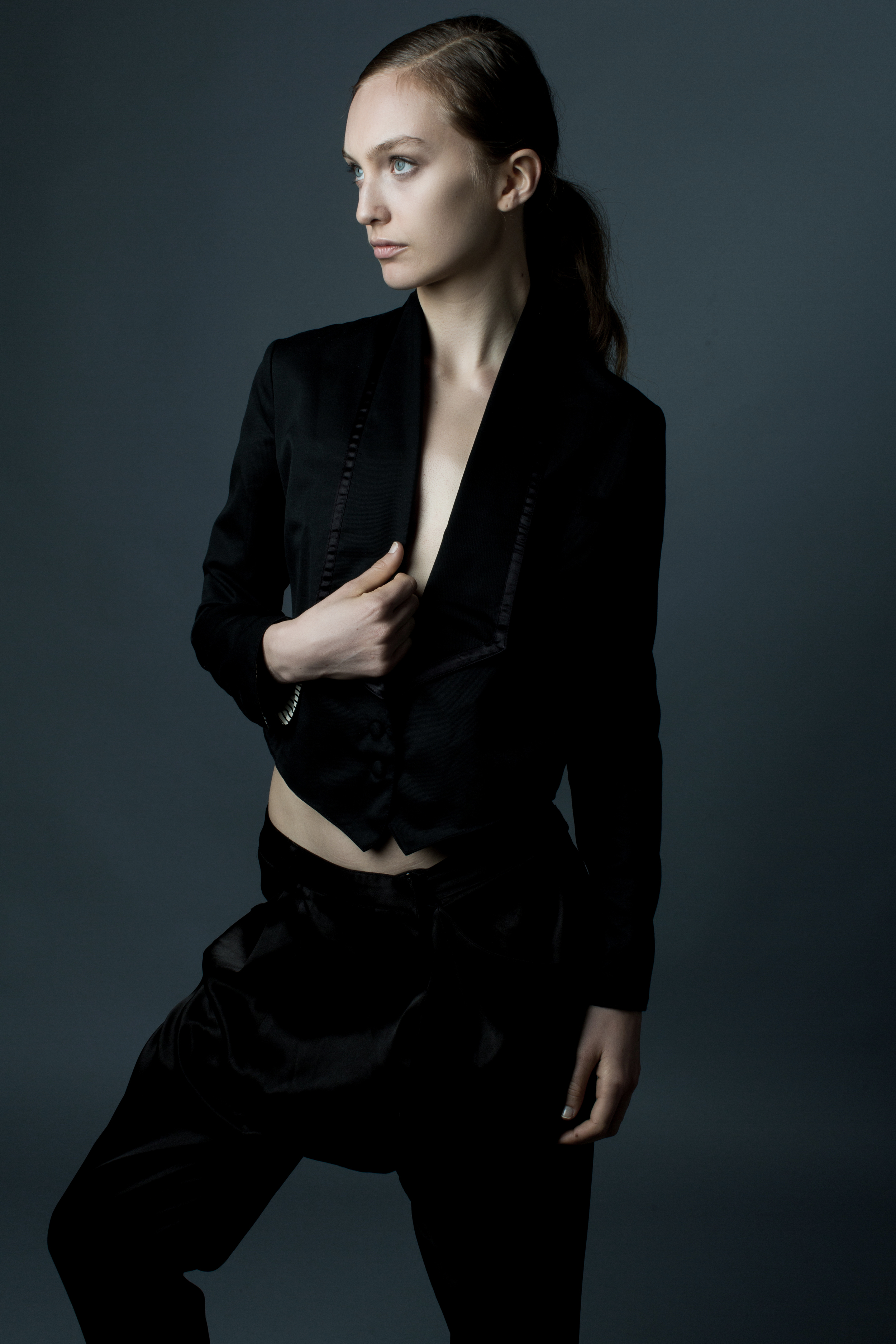 model CRYSTAL   photographer BONNIE NICHOALDS   featured designer  JAW MAKER   styled by NIK