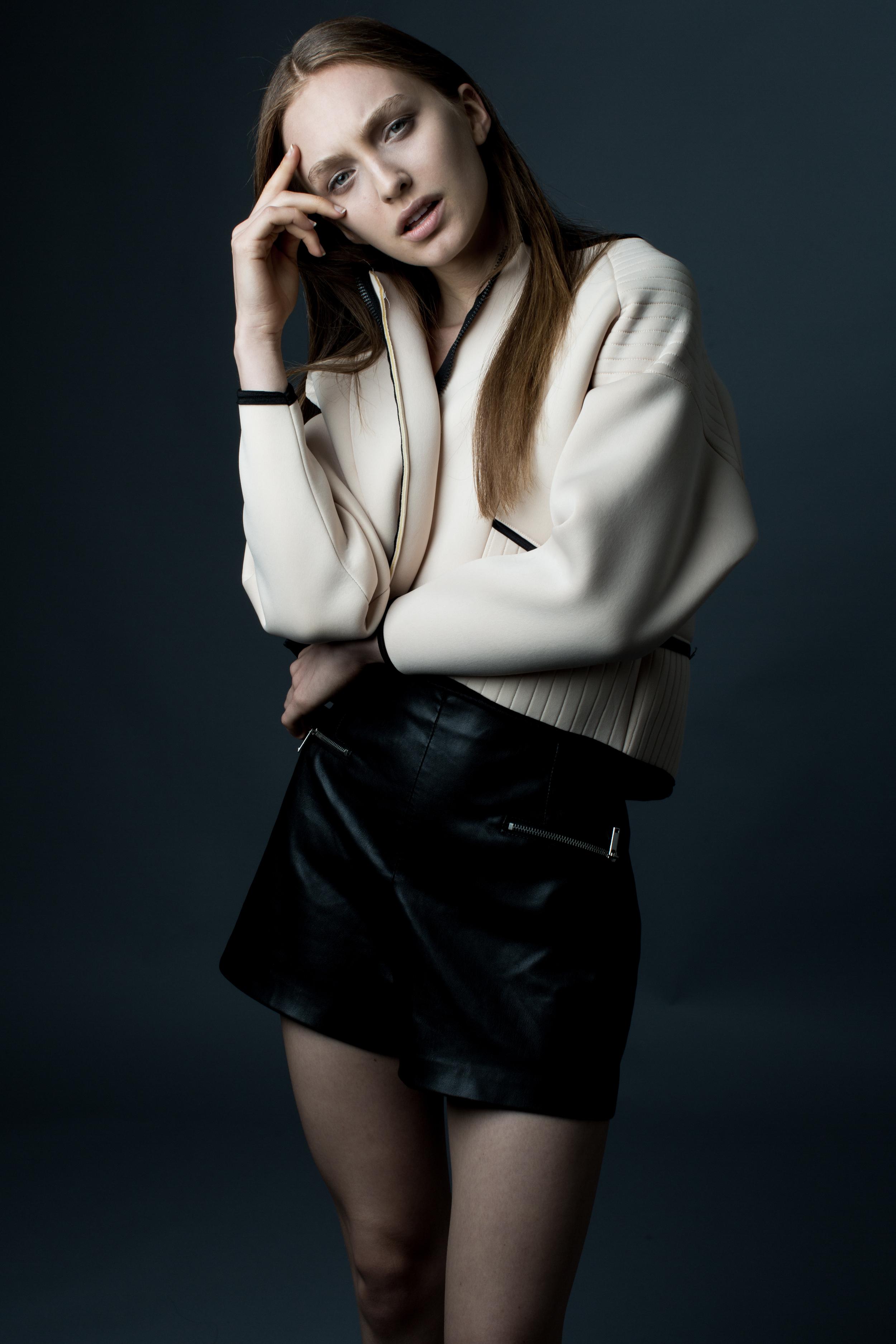 model CRYSTAL   photographer BONNIE NICHOALDS   styled by NIK