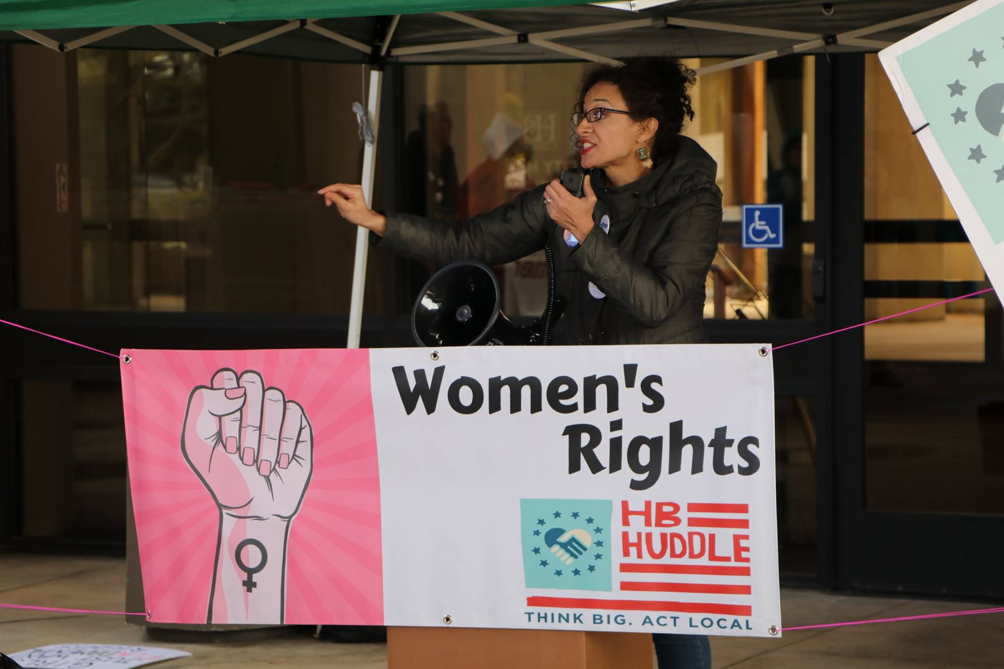 Women's History Rally, Huntington Beach, March 2018