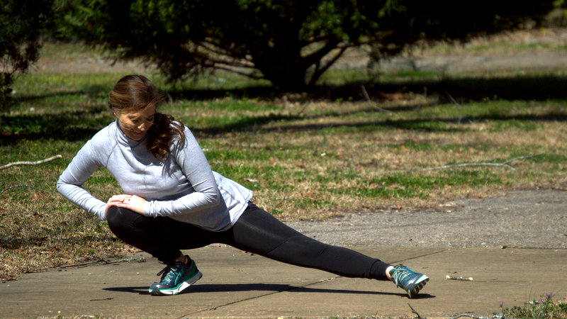 I LOVE stretching! Especially if I'm sore after a workout. Stretching tired, achy muscles is the best!