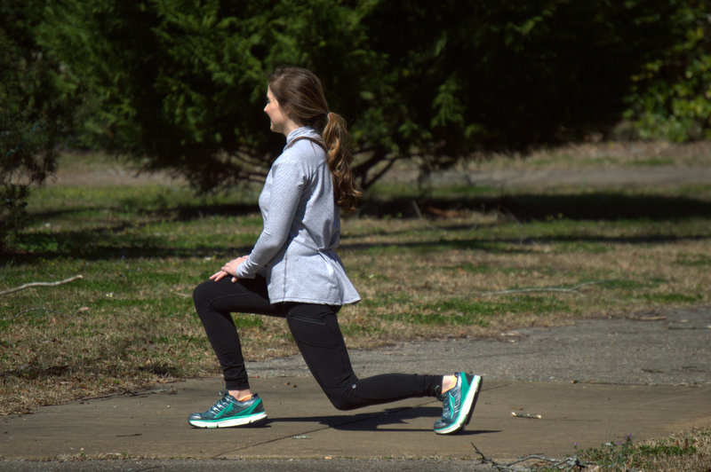 Is it just me or did lunges use to be so much easier in high school than they are now?