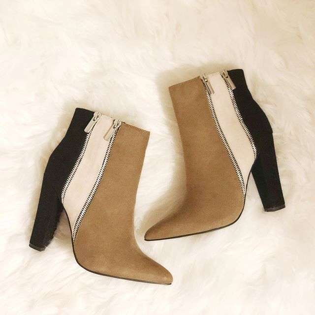 Planning the extensive amount of outfits I'm going to wear these beauty booties with! Head to the link in my bio to snag you some! You won't regret it! Who else loves JustFab? Sound off in the comments where you find cute booties!! #justfabpartner #justfabstyle