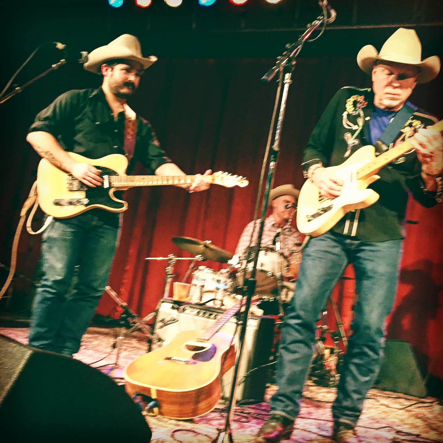 Cahalen Morrison's country band, Western Centuries, in action. Photo by Zoë Léger, age 7.