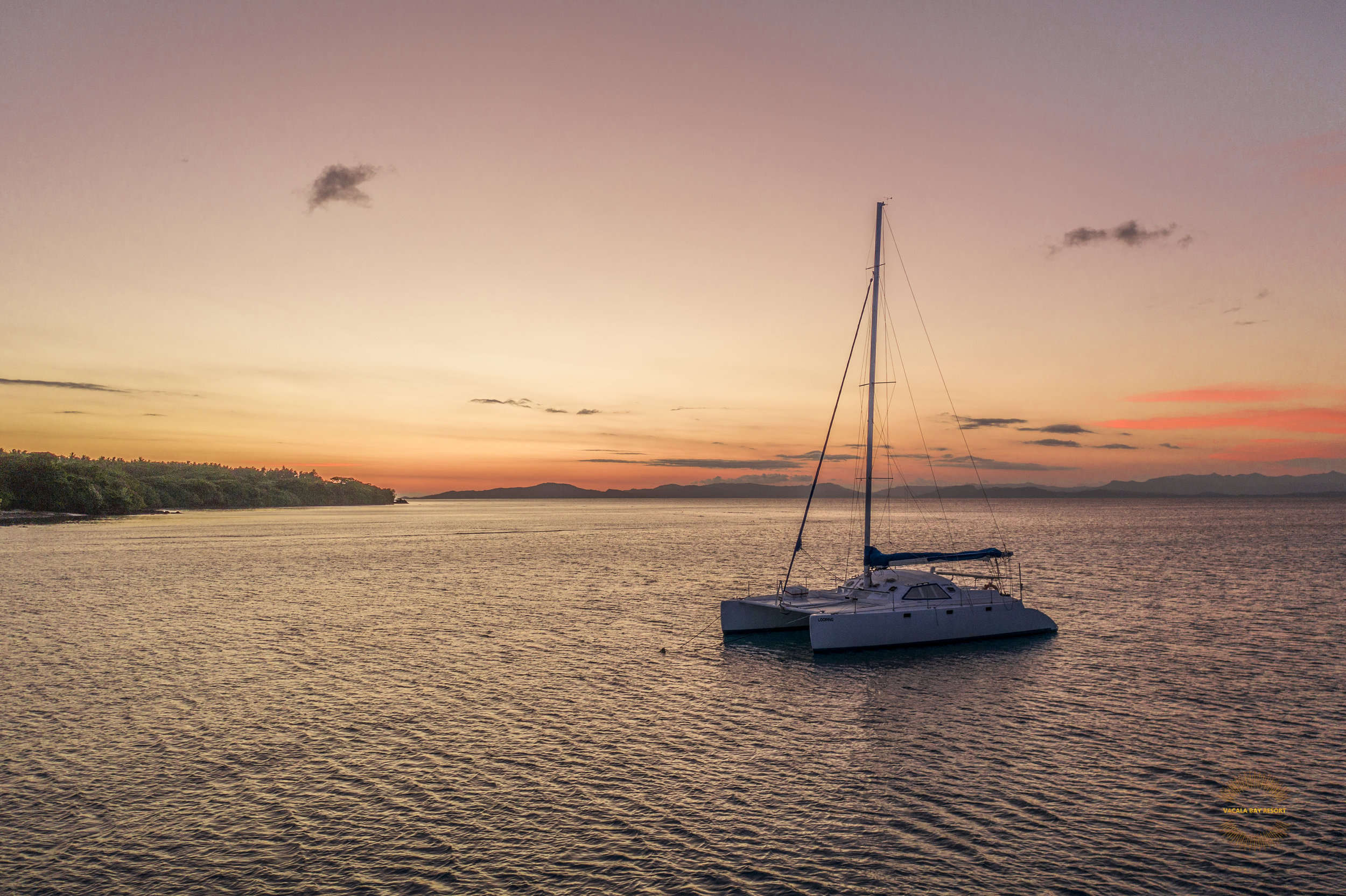 Spectacular sunsets from the aftdeck are a sight to behold…