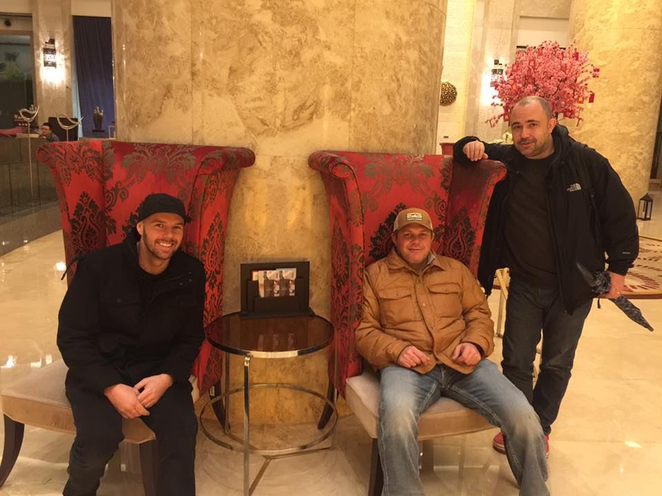 Founder's Shane, Sean and Will together in China
