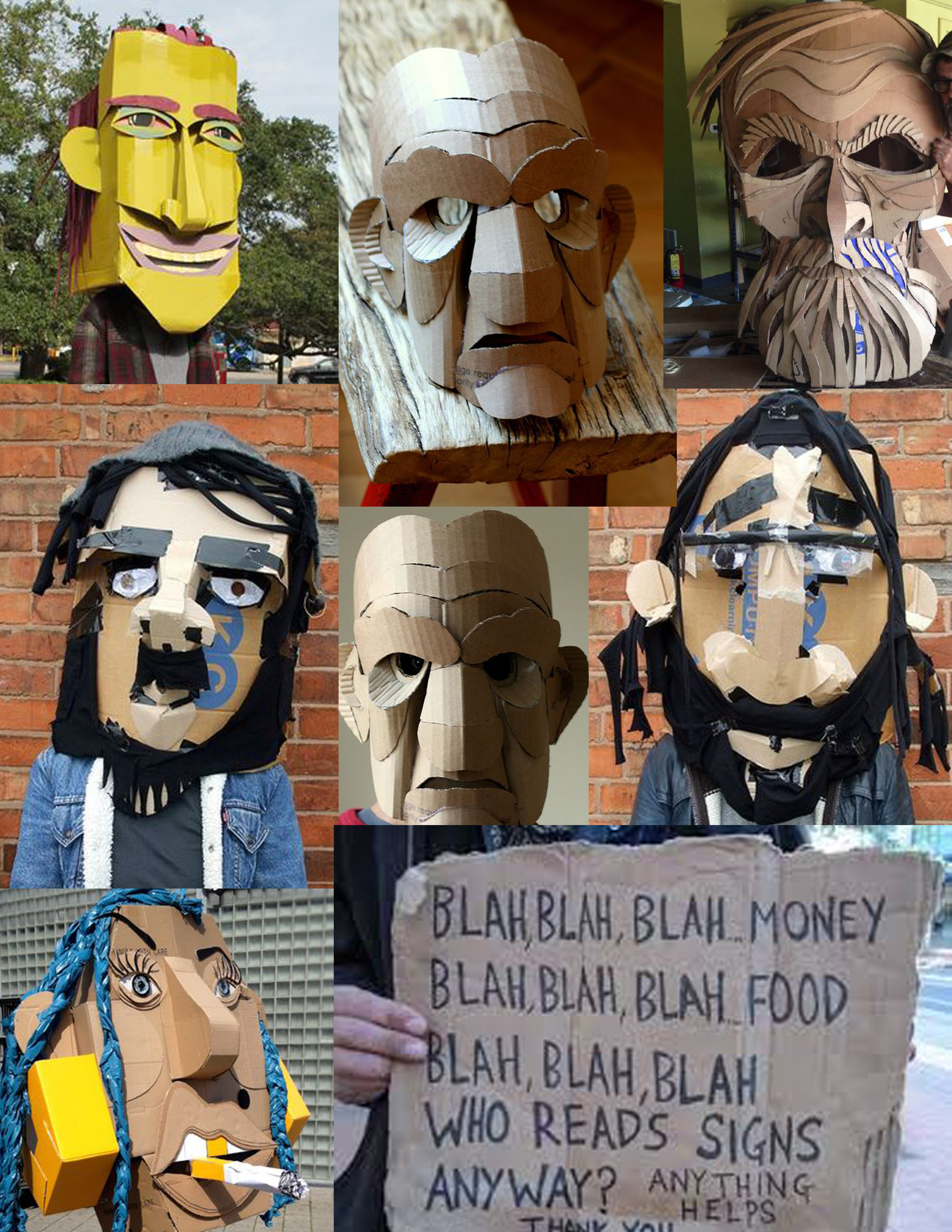 Mask Inspiration Collage