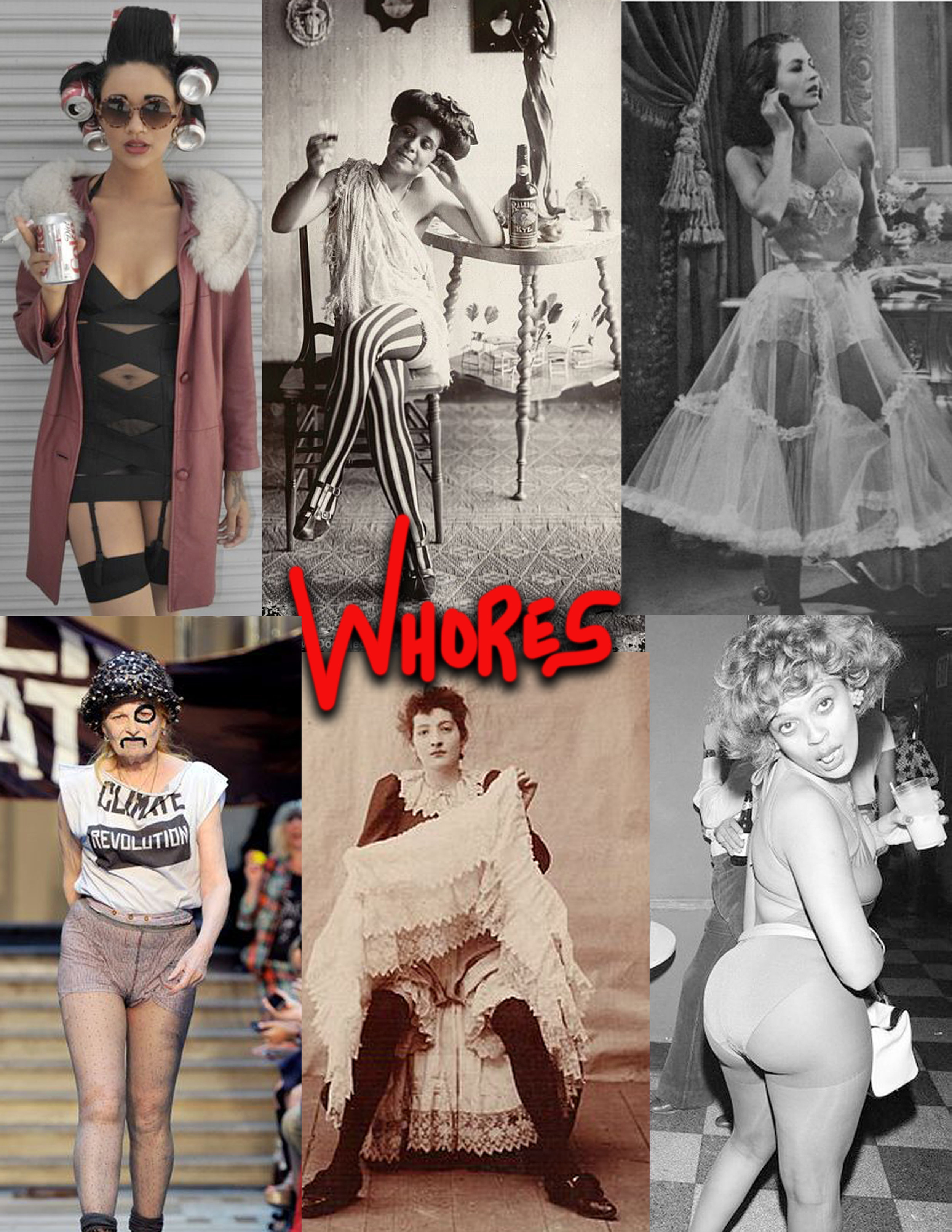 Inspiration collage for whores