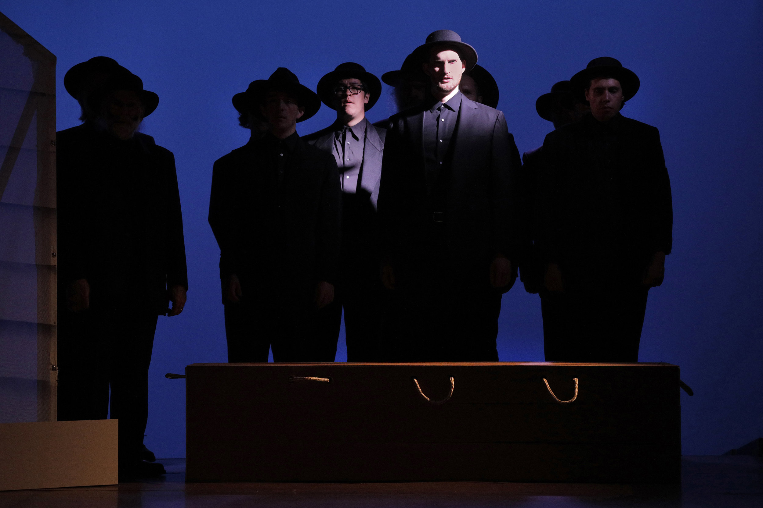 The Councilman (Spencer Dodd) in West Edge Opera's production of Breaking the Waves