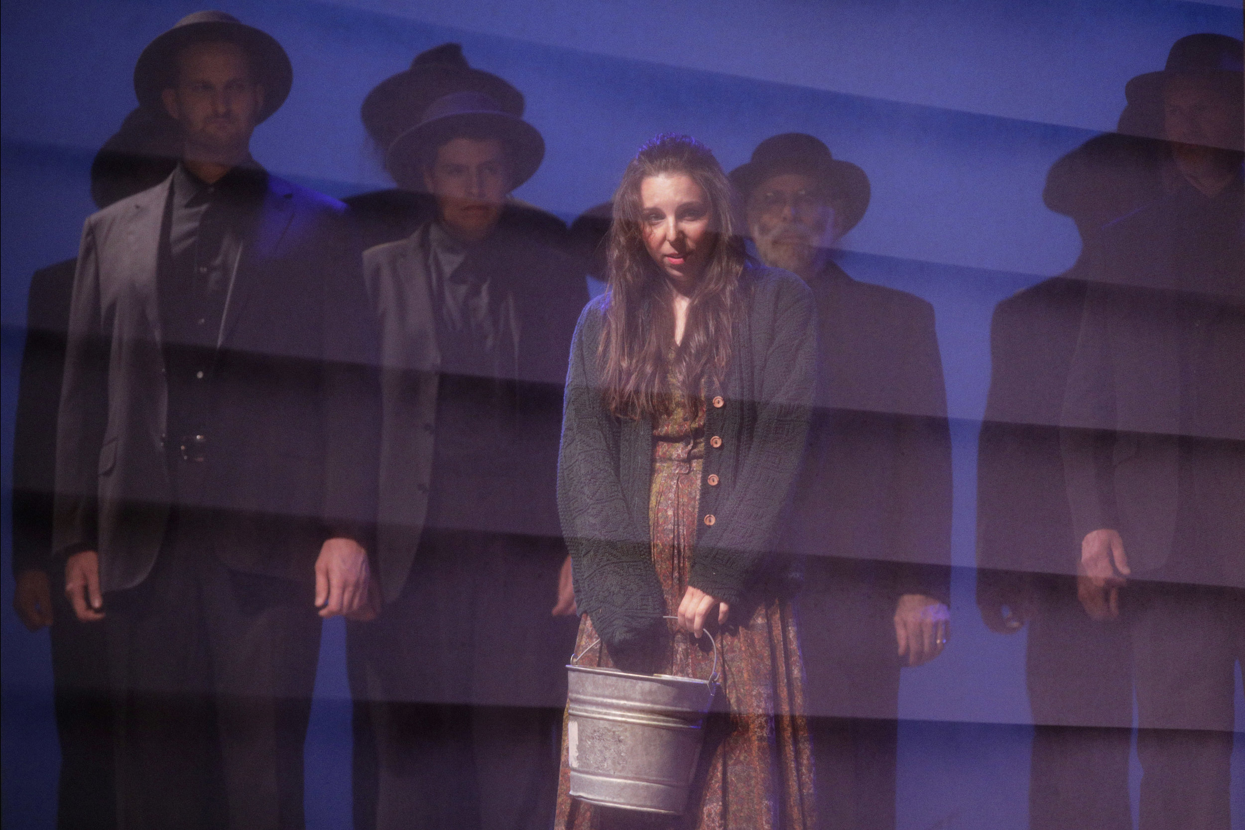 Bess McNeill (Sara LeMesh) in West Edge Opera's production of Breaking the Waves