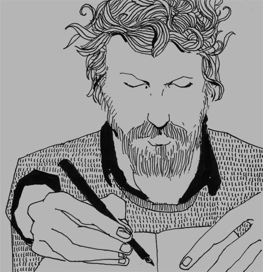 Drawing by Jeffrey Alan Love
